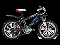 Подростковый велосипед Stark Bliss Boy 20, черно/красный