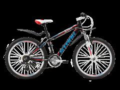 Подростковый велосипед Stark Slider, черно-красный