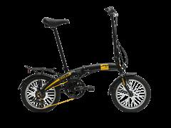 """Складной велосипед Stark Jam 16"""", черно-желтый"""