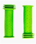 Грипсы детские, резиновые, длина 102мм, Green