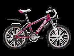 Подростковый велосипед Stark Bliss Girl 20, розово/белый