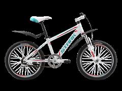 "Детский велосипед Stark Rocket 20"" White/Green"