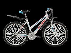 Женский велосипед Stark Luna, white/blue