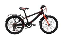 Детский велосипед Merida Dino J20 6 spd Matt black/red (30489)