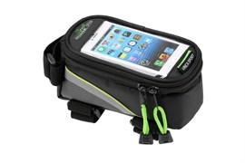 Сумка на раму увеличенная для телефона Vinca FB 07L, green