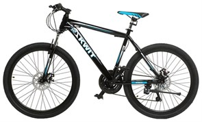 Горный велосипед Kwit Iron Disk, Black (дисковые тормоза)