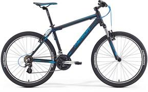 Горный велосипед Merida Matts 6.10-V matt black (blue)
