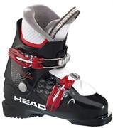 Детские горнолыжные ботинки Head Edge J2 black/red (604655)