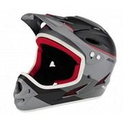 Шлем Alpina FULLFACE, titanium-red