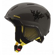 Детский шлем Alpina CARAT LX, auba-black-yellow
