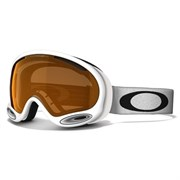 Маска Oakley A FRAME 2.0 POLISHED WHITE/PERSIMMON