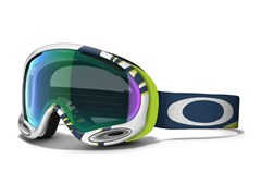 Маска Oakley A FRAME 2.0 SMOKE RINGS LIME BLUE JADE IRIDIUM