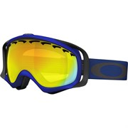 Маска Oakley CROWBAR SKYDIVER BLUE FIRE IRIDIUM