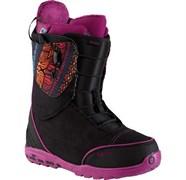 Сноубордические ботинки Burton Ritual, black/print