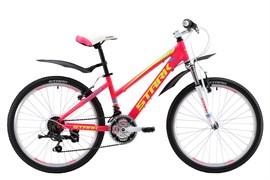 Подростковый велосипед Stark Bliss 24 pink-yellow