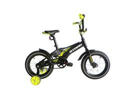 Детский велосипед Stark Tanuki 14 Boy black-green