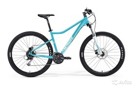 Женский велосипед Merida Juliet 6.20-D Matt Blue (White) (30641)