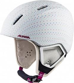 Детский шлем Alpina CARAT XT white-polka matt - фото 10780
