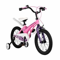 Велосипед MAXISCOO Cosmic, Стандарт, Детский 16, Розовый - фото 17443