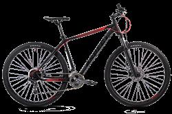 """Велосипед ASPECT AIR PRO 29"""", черный-красный - фото 17709"""