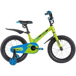 Детский велосипед NOVATRACK BLAST 16, зеленый - фото 17818