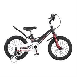 Велосипед MAXISCOO Space, Стандарт 16, Черный матовый - фото 18448