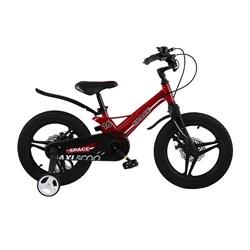 Велосипед MAXISCOO Space Делюкс 16, Красный - фото 18480