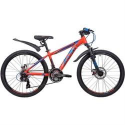 Велосипед Novatrack Extreme 24, оранжевый - фото 18570
