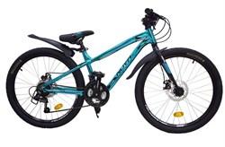 "Велосипед Novatrck Prime 24"", синий металлик - фото 18881"