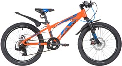 Велосипед NOVATRACK EXTREME 20 Disc оранжевый - фото 18934