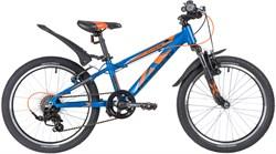 "Велосипед NOVATRACK EXTREME 20"" V-BRAKE, синий - фото 18946"