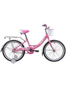 """Велосипед Novatrack GIRLISH, 20"""" розовый - фото 18965"""