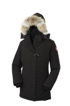 Женская куртка Canada Goose Dawson Parka, Black (распродано) - фото 3982