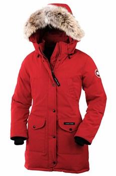 Женская куртка Canada GooseTrilliumRed (распродано) - фото 3996