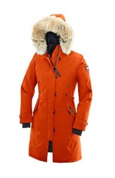 Женская куртка Canada Goose Kensington Sunset Orange (распродано) - фото 4003