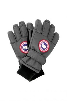 Canada Goose Youth Down Gloves, MidGrey - фото 4011