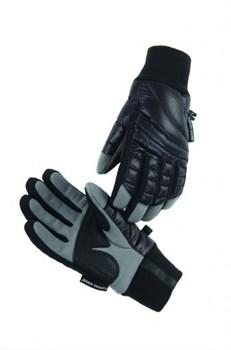 Женские перчатки Canada Goose Ladies Hybridge Gloves, Black/Mid Grey (распродано) - фото 4012