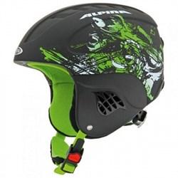 Детский шлем AlpinaCARAT L.E.Black Green Matt (распродано) - фото 4044