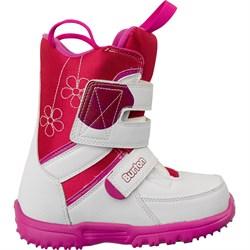 Детские ботинки BURTON grom, white/pink - фото 4176