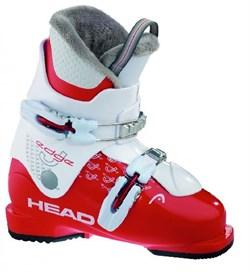 Детские ботинки HEAD Edge J2 red-white (распродано) - фото 4216