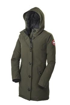Женская куртка Canada Goose Camrose Parka, Military Green (распродано) - фото 4564