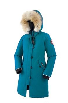 Юниорская куртка Canada Goose Girls Brittania Parka, Blue topaz (распродано) - фото 4565