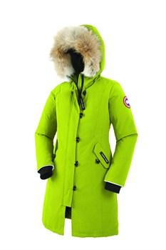 Юниорская куртка Canada Goose Girls Brittania Parka, Aurora Green(распродано) - фото 4567