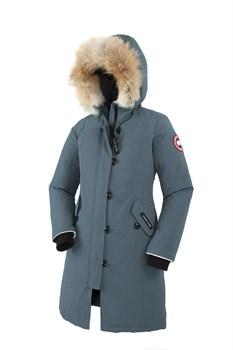 Юниорская куртка Canada Goose Girls Brittania Parka, Ocean (распродано) - фото 4569
