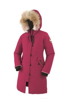 Юниорская куртка Canada Goose Girls Brittania Parka, Summit Pink (распродано) - фото 4571