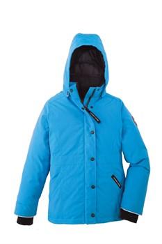 Юниорская куртка Canada Goose Girls Alexandra Parka ,Blue topaz - фото 4575