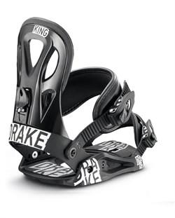 Сноубордические крепления Drake King Black (распродано) - фото 4613