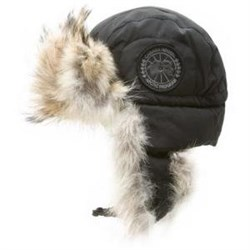 Canada Goose Ушанка LP Aviator Hat, Black Heather (распродано) - фото 4670