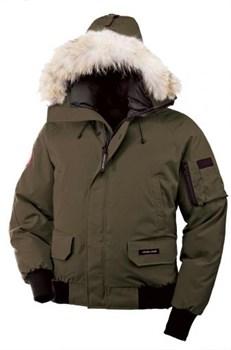 Мужская куртка Canada Goose Chilliwack Bomber Military Green (распродано) - фото 4689