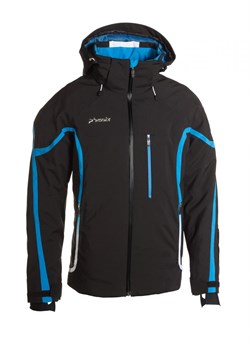Куртка мужская PHENIX	Lightning Jacket, Black - фото 4755